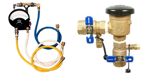 backflow inspection testing repair Atlanta