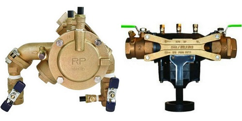 reduced pressure principle backflow testing Atlanta